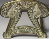 Wonderful Condition - 1920s Art Nouveau Book End/BOOK RACK