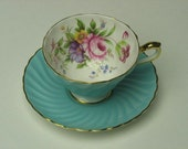 One of my favorites -- LOVELY Vintage Collectible Aynsley cup and saucer - Wonderful condition