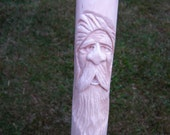 How to Carve a Wood Spirit on a Rolling Pin DVD