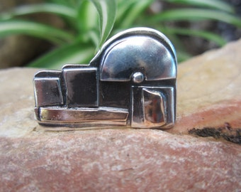 Jerusalem of Silver and Gold  - A Pin Handmade From Israel