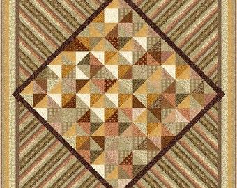 DESERT SANDS - 3 sizes - Quilt-Addicts Pre-cut Patchwork Quilt Kit or Finished Quilt