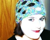 Stained Glass Openwork Hat