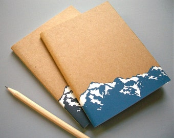 Small Mountain Notebook Journal