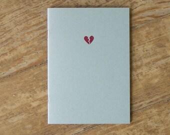 Broken Heart Notebook - Heartache Cahier