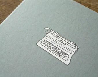 Typewriter Notebook - Writer's Cahier