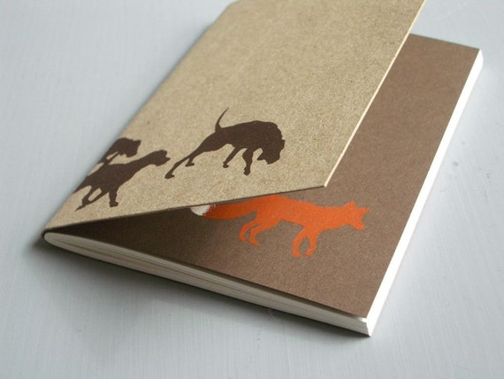 Hounds and Fox Notebook