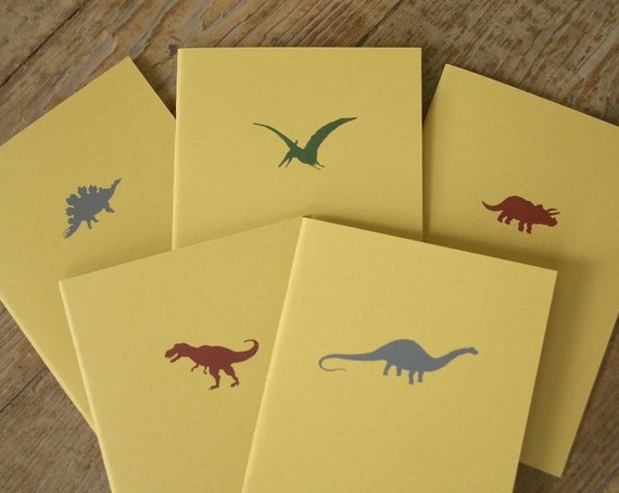 Dinosaur Notebooks - Clearance Selection