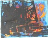 MAX Train Portland OR Blue/Orange/Red/Yellow