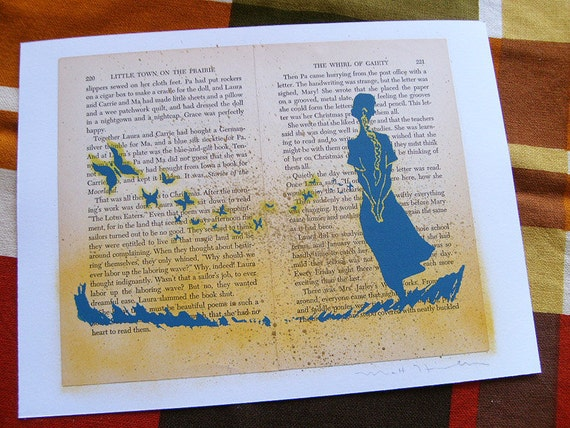 Laura Ingalls, Edition 3 LitKids Print