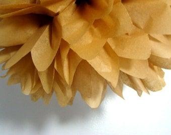 Tissue Paper Pom - 1 tissue paper flowers/ wedding decor/ birthday decor/ tissue paper garlands / baby shower decor
