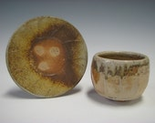 Wood Fired Yunomi and Saucer