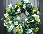 St Patrick's Day Wreath St Patty's Day Wreath Spring Door Decoration