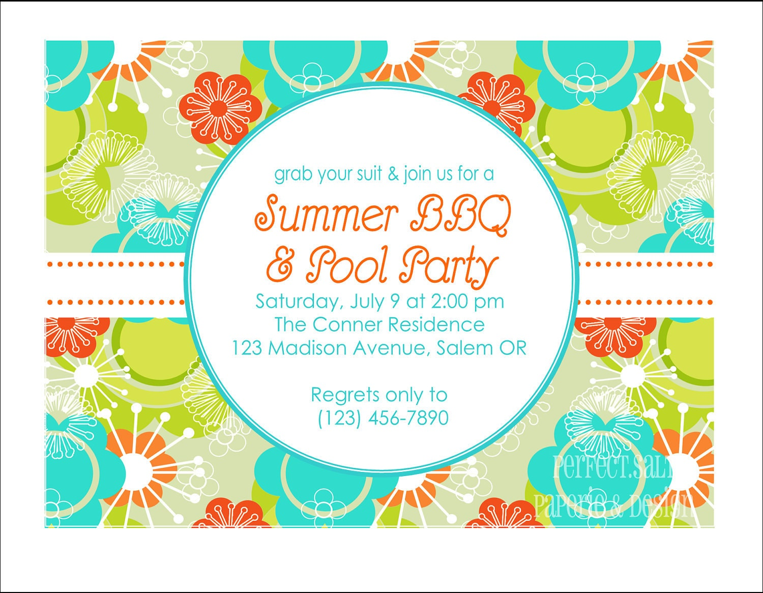 summer party invitation templates printable summer party printable summer party invitation pool party by perfectsaltstudio