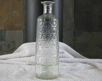 VINTAGE SCHENLEY BOTTLE, 10 Tall, Glass