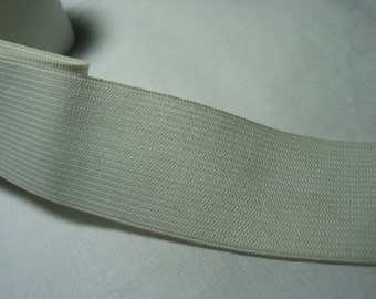 1-1/4',  50 ydsBulk Knittted Elastic - black or white