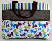 Medium Butterfly Mesh Tote Bag