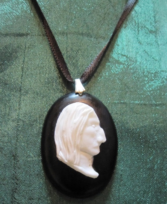 Professor Snape Resin Cameo
