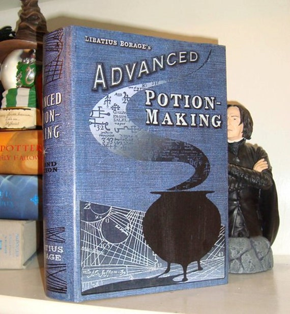 advanced potion making display book