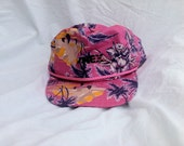 80s 90s Hawaiian Hat  One size fits most