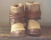 Tony Lama up-scaled boots. Size 7