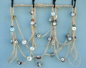 Evil Eye Bead Wall Hanging- Multicolored Wall Hanging - FREE SHIPPING