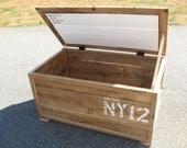 Kelly - Reclaimed wood Trunk and Barn Door