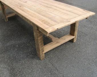 Farm Table Reclaimed Oak (Handmade)