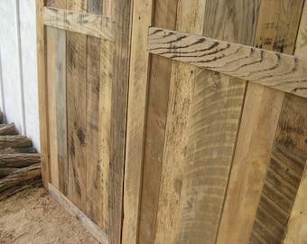 Barnwood Door (Handmade)