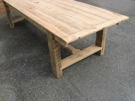 Farm Table Reclaimed Oak (Handmade)