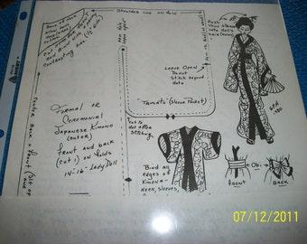 Geri Milano Japanese Kimono Pattern