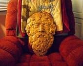 Green Man Wood Carving X- Large