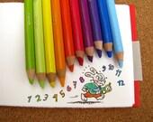 ALICE in Wonderland set of 4 sketchbooks\/journals