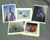 Mix and Match, Set of 5 Art Cards