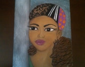 fly naturalista - an original soft pastel drawing