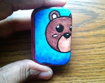Brown Bear - A Metal Tin