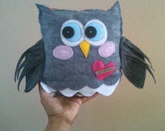 The Love Owl- a home decor accent piece