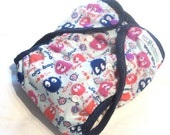 One Size Gumdrop Ooga Booga PUL Printed Pocket Diaper with Organic Bamboo Velour Inner