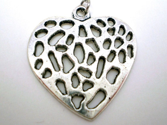 Wild Heart Car Charm - Customize your Chain Colors