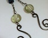 Funky Wire Wrapped Earrings - EML034