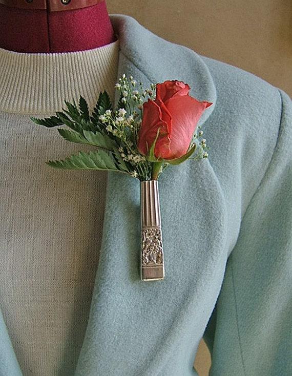 Lapel Vase - Antique CORONATION knife given new life