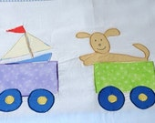 Applique bedding duvet cover for toddlers- Baby's Room