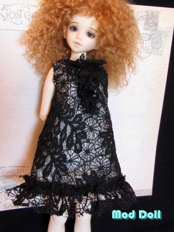 Lacey A black and green dress for MSD