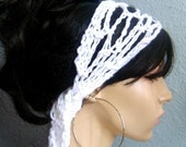 BUY 2 hair scarfs GET 1 hair scarf FREE - Crochet Gypsy Style Hair Band and Scarf