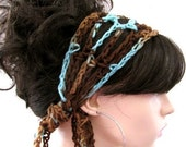 BUY 2 hair scarfs GET 1 hair scarf FREE - Crochet Gypsy Style Hair Band and Scarf