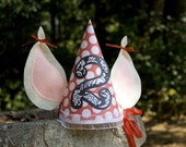 Pig Birthday Girl Party Hat Customized, SHIPPED FLAT