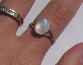 Bella's Rainbow Moonstone Ring
