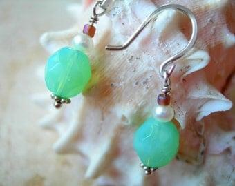 Earrings In Sterling Silver Caribbean Breeze