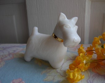 Perfume Bottle West Highland Terrier Queen of Scots Avon Vintage