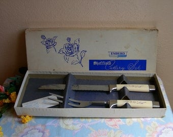 Cutlery Set Sheffield Vintage