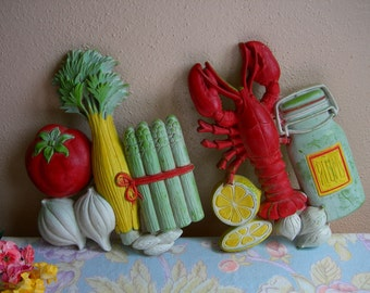 Wall Hanging Kitchen 1975 Vintage
